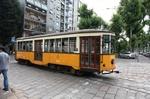 ミラノの路面電車(旧式)